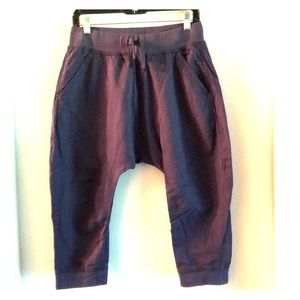 Zara Harem Cropped Track Pants